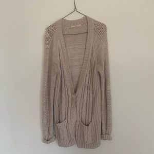 Victoria's Secret Sweaters - Cabled oversized cardigan by Victoria's Secret